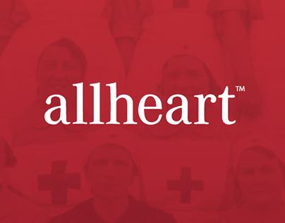 allheart Mobile App Concept