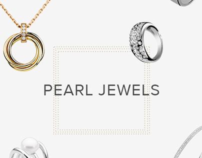 Pearl Jewels Branding & UI/UX Design