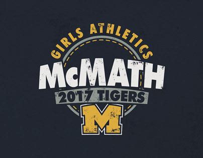 McMath Middle School T-Shirt Designs