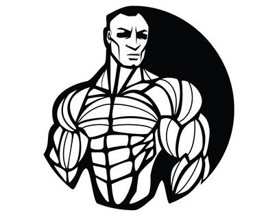 Gym logo vector art