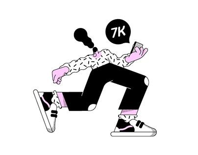 7K Insta followers