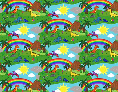 Dinosaurseamless image