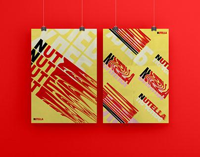 Рекламные плакаты Nutella