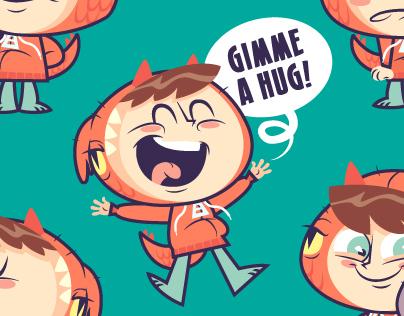 Kiyoshi -- Emoji Sticker Pack