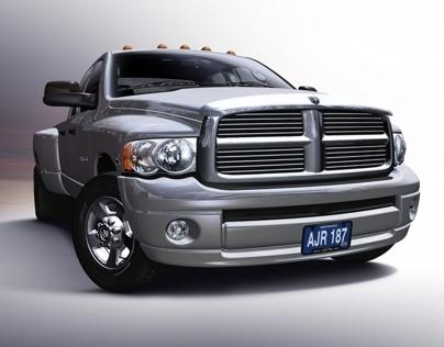3D Automotive Alternative Rendering Process 2004
