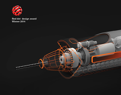 RADR- power drill for radial surfaces