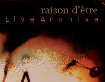 Reson d'être - Live Archive 3CD Digipack