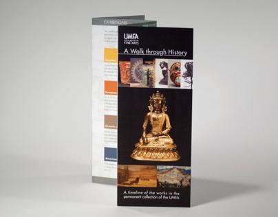 UMFA Timeline of the Arts brochure