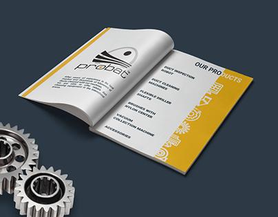 Brand Book Чешской компании Hoomtechnik