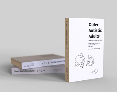 "Book cover design ""Older Autistic Adults"" contest entry"