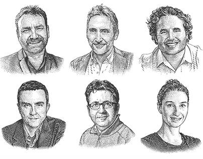 Portraits for mega.online