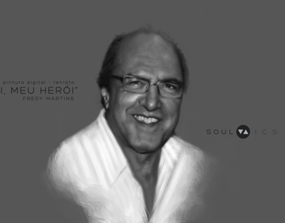 Digital Portrait - My Dad
