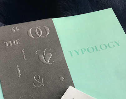 Typology – Editorial Book and Type Specimen