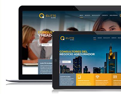 Q-elitte GLOBAL Branding and UX Design