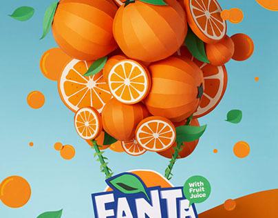 Paper flavorland campaign - FANTA