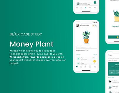 Money Plant App- UI/UX Case Study