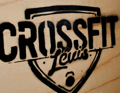 Crossfit Lévis. Logo, Website design & Stuff