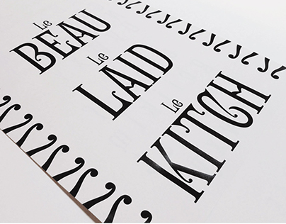 Kitch Victorian Typeface