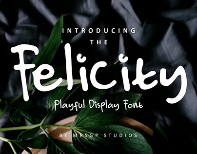 Felicity Natural Handwritten Font