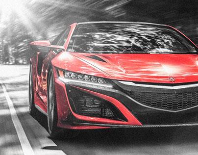 Acura NSX_CGI