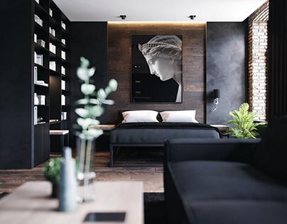 Loft Apartment in Saint Petersburg