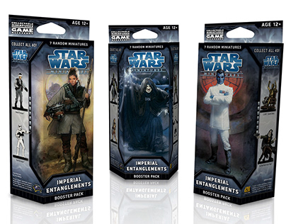 Package Redesign: Star Wars Miniatures