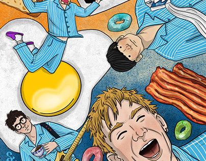 Dream Gigs Illustrated - Blur