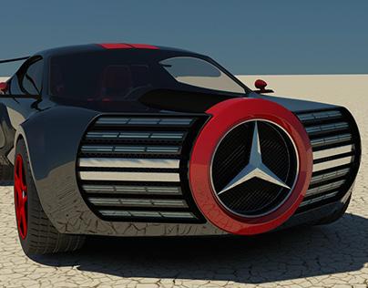 The Mercedes-Benz Black Widow Concept
