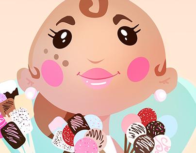 Eliza's Sweet Logo /Mascot