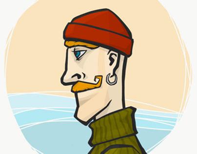 Characters:  The Haring Fisherman