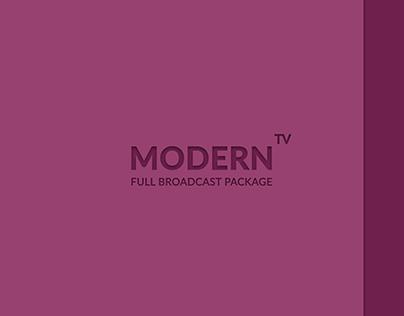 Modern TV - Full Broadcast Pack