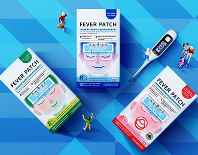 Fever Patch Packaging | 包 装 设 计