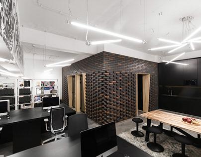 Brick office