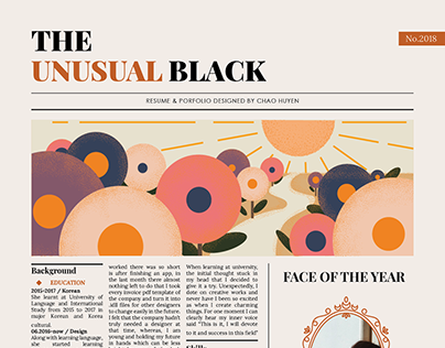 The Unusual Black | 2018 portfolio