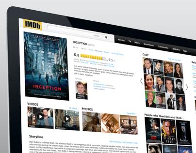 IMDb 1080p Responsive Concept Design