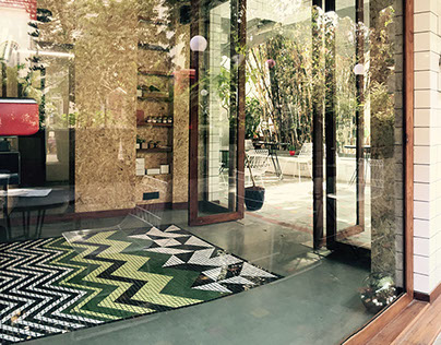 The Village Shop Floor Mosaic
