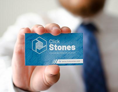 Click Stones - Identidade Visual