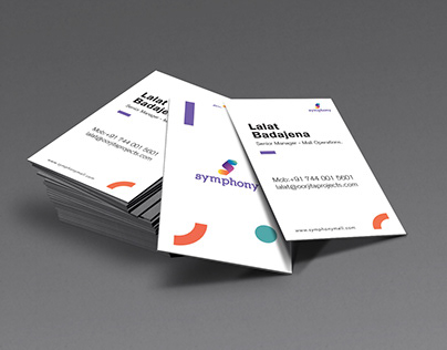 Business Card Designs - Symphony Mall