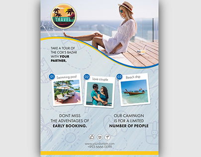 TRVEL FLYER TEMPLATE