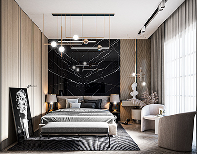 Black Bedroom