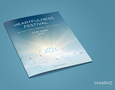 A4 Booklet Heartfulness Festival - RO