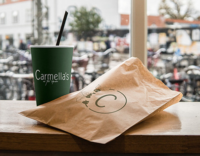 Carmella's Cafe Branding & Roll out