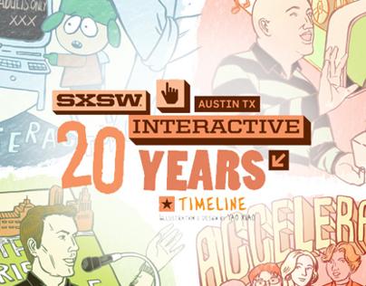 SXSW 2013: Interactive 20 Year Anniversary Timeline