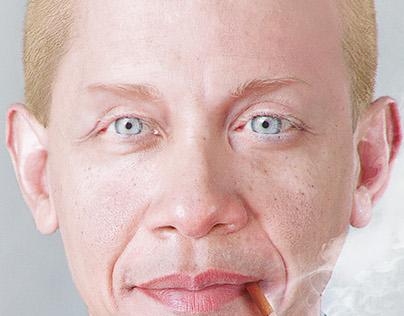 Albino Obama | Creative Retouch