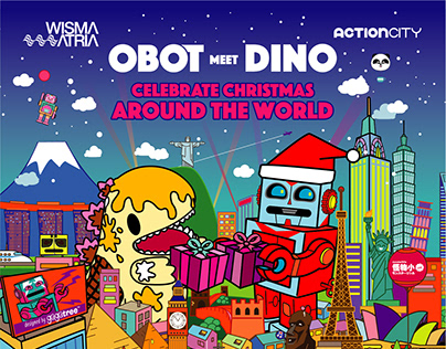 OBOT meets DINO | Celebrate Christmas Around the World