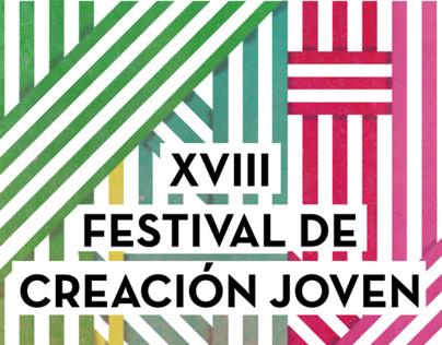 XVIII Festival de Creación Joven Poster
