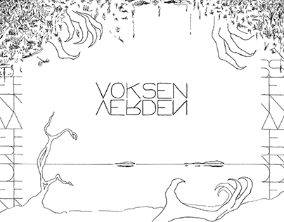 Voksenverden – A Hand Drawn Poem Collection