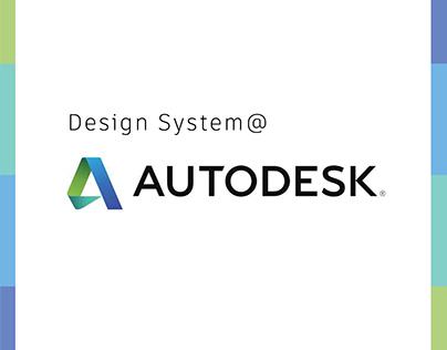 Design System @Autodesk