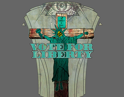 Sacrifice of Liberty Threadless design submission