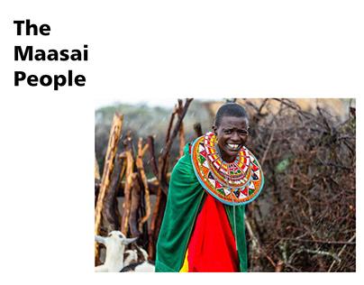 Costumes of the Maasai Tribe (Women)